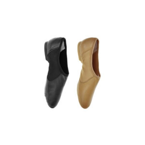 Hyper Easy Slip On Split Sole Leather Jazz Shoe