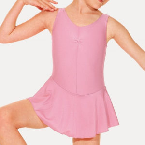 Roch Valley Sleeveless nylon/lycra Skirted Leotard