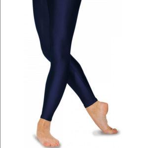 Roch Valley Shiny Nylon/Lycra Footless tights
