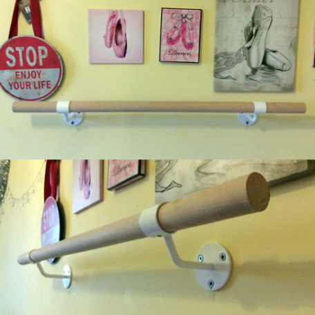 Wall Mounted Ballet Barre