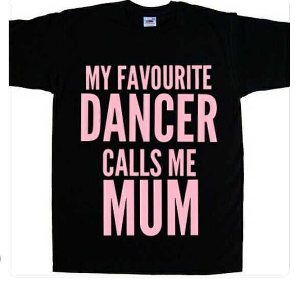 my favourite dancer calls me mum dance mum t-shirt
