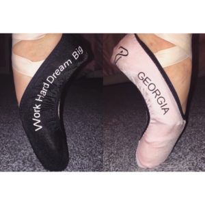 Personalised Pointe Shoe Covers