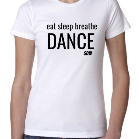 Eat sleep breathe dance t-shirt