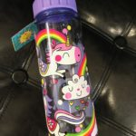 unicorn rainbows water bottle by rachel ellen designs