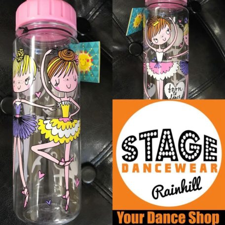 ballerina water bottle