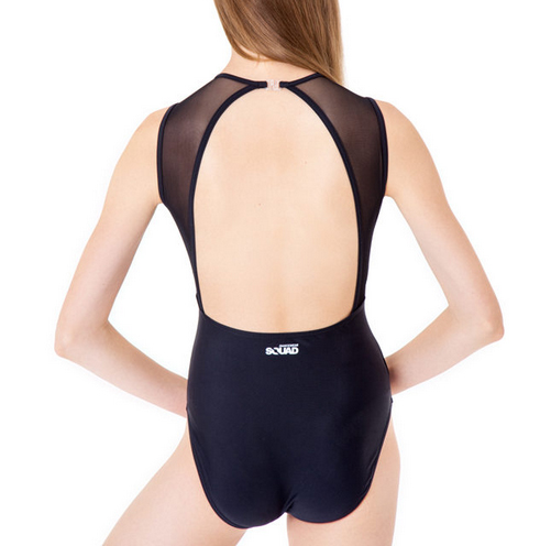 squad dancewear evie leotard back