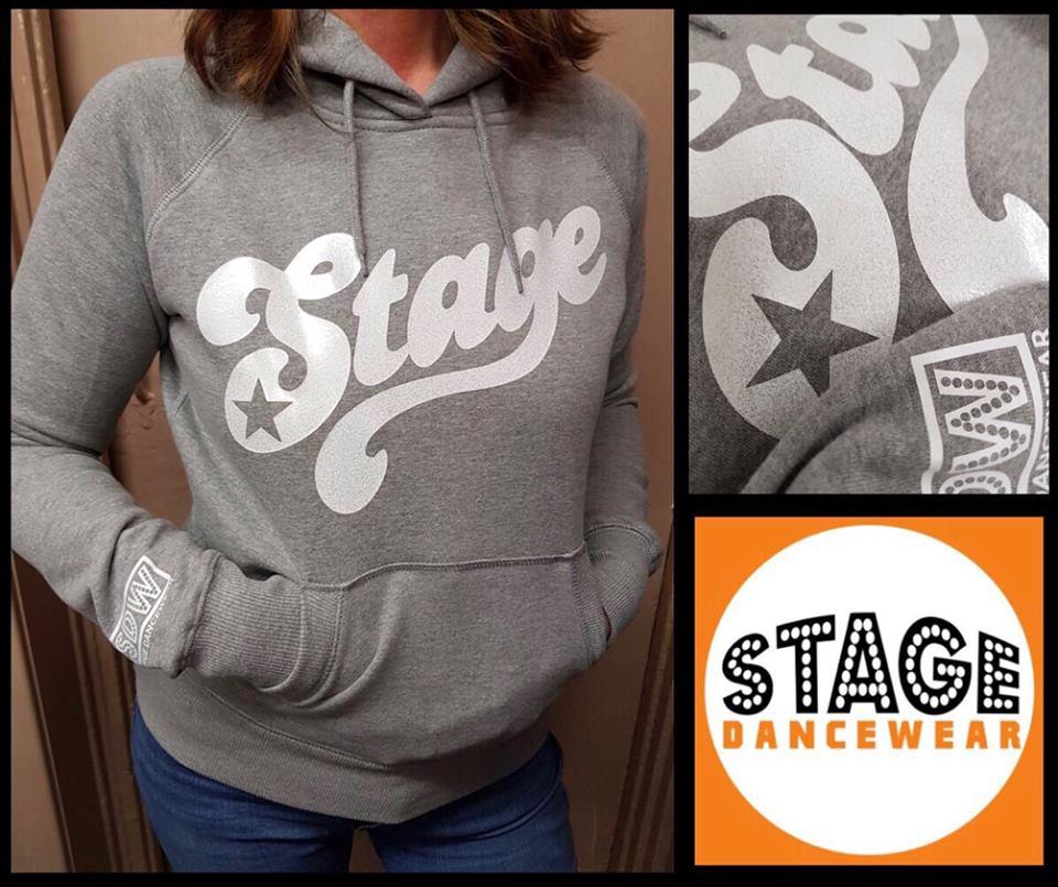 SDW stage retro Grey hoodie
