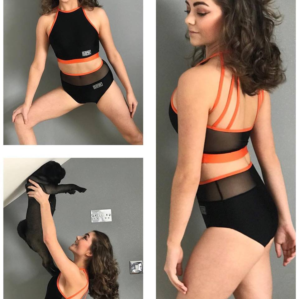 SDW strappy crop set
