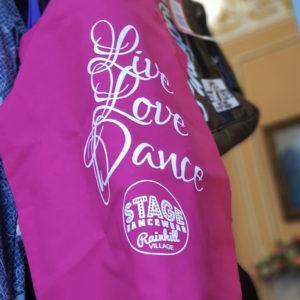 SDW Stage Live Love Dance Tote Bag
