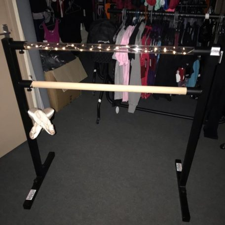 Light up double ballet barre