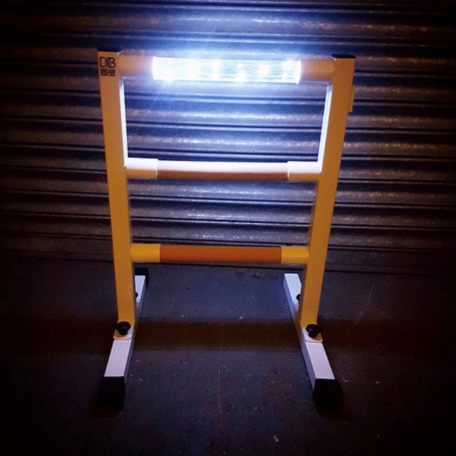 light up stretch ladder