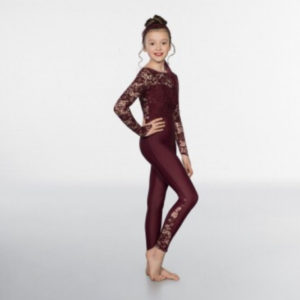 Sequin Lace Unitard