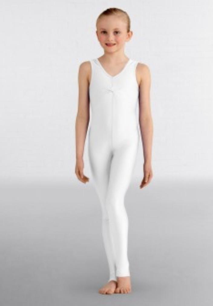 Emma catsuit white