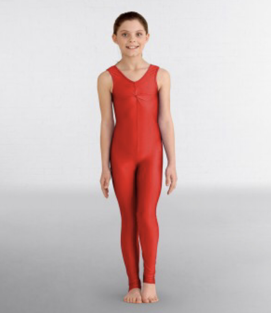 Emma catsuit red
