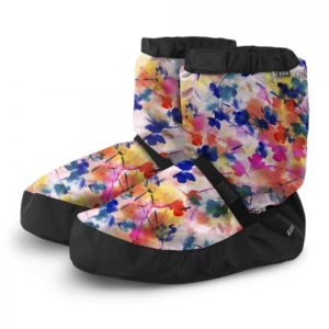Bloch Warm up booties Vanilla Floral
