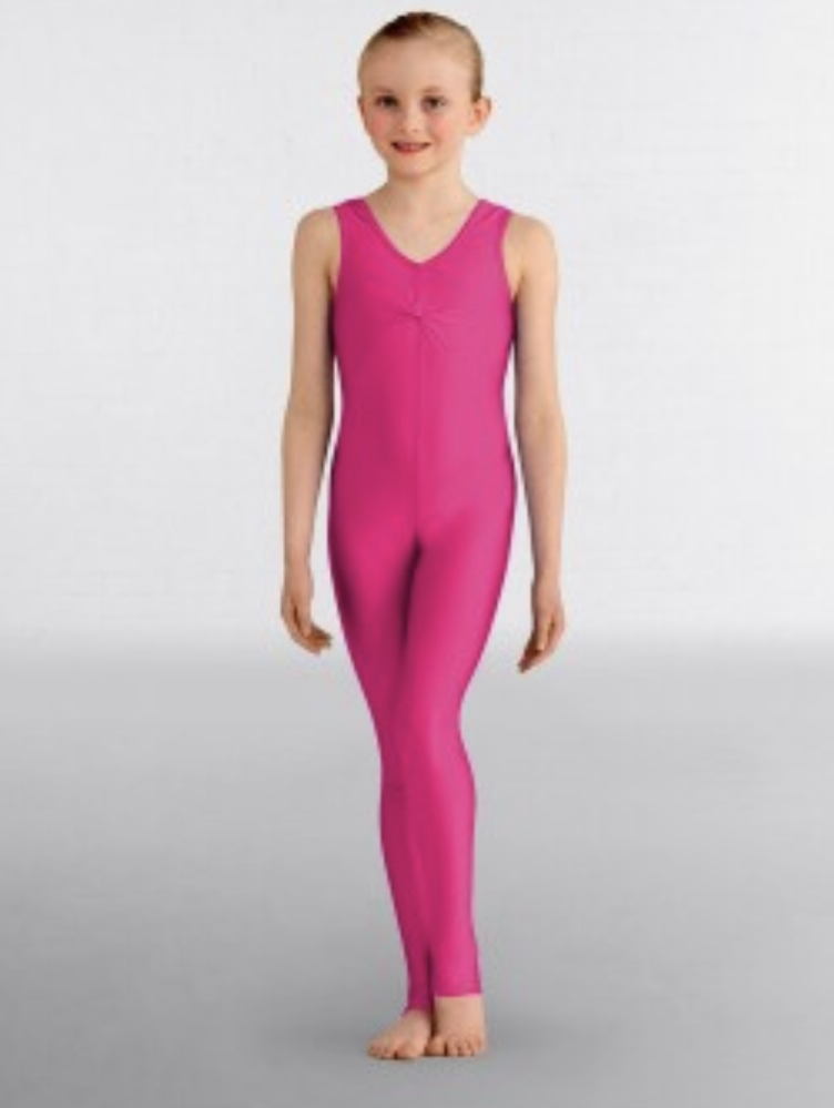 Emma catsuit bright raspberry