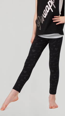 Pineapple Logo print leggings