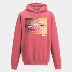Cosmic Lips Hoodie by Flirt Apparel