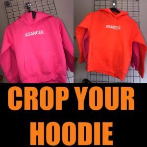 Crop your Hoodie