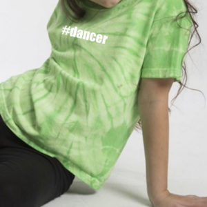 #dancer tie dye full tee by Stage Dancewear