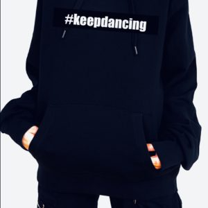 #keepdancing full hoodie by Stage Dancewear