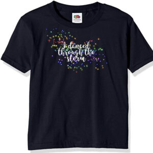 Rainbow Danced thru Storm tee by Stage Dancewear