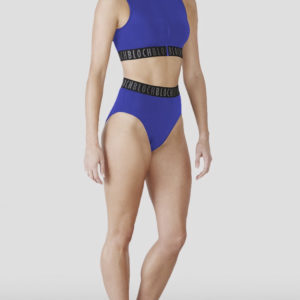 Bloch Remy Zip front Crop Top