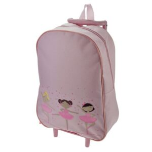 Pink Ballerina Trolley Bag