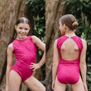 Emmie Leotard Squad Dancewear Pink