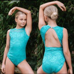 Emmie Leotard Squad Dancewear Jade