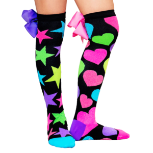 GLITTER WITH BOWS MADMIA SOCKS