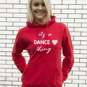 It's a Dance Thing Hoodie by Stage Dancewear